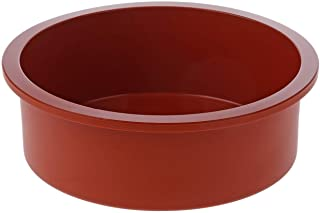 SFT180 Molde de Silicona Redondo, Color Terracota
