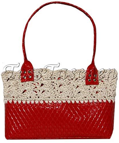 Damenhandtaschen, Gestrickte Taschen, Designerhandtaschen 2018-2019, klassische Tasche