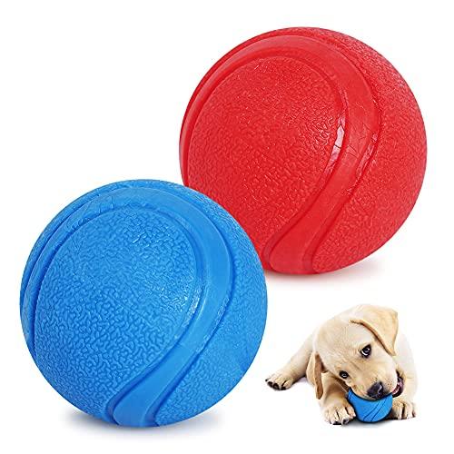 Palla Giocattolo per Cani, Giocattolo per Il Lancio, Bounce Masticare Palla per Cani, Robusto Cane Palla Palla di Gomma Naturale Gomma Dura, Giocattolo interattivo Palla...