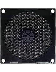 SilverStone SST-FF81B - 80 mm osłona wentylatora z filtrem kurzu, czarna