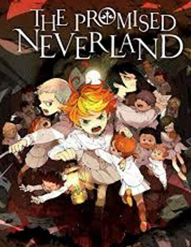 THE PROMISED NEVERLAND: THE PROMISED NEVERLAND: Notebook Large Size 8.5in x 11in x 110 pages
