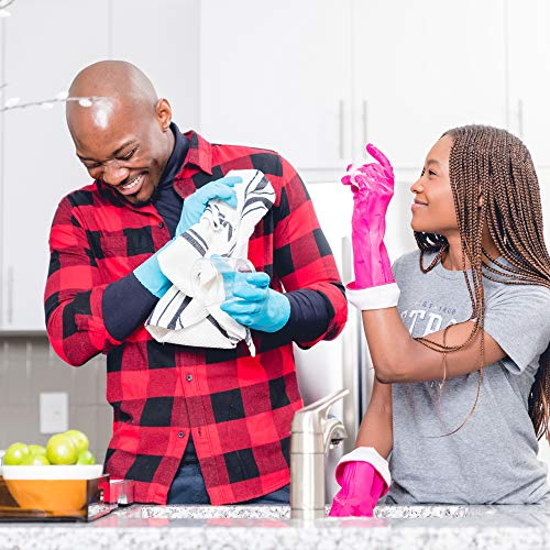 Product Image 6: Playtex Living Reuseable Rubber Cleaning Gloves (Medium, Pack – 3)