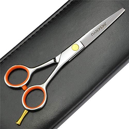 XGJ Tijeras Profesionales de peluquería, Tijeras de Corte de Acero de 4 Pulgadas / 5 Pulgadas / 5,5 Pulgadas 440C Cizallas para el salón de barbero (Color : 5 Inch Cutting Scissors)