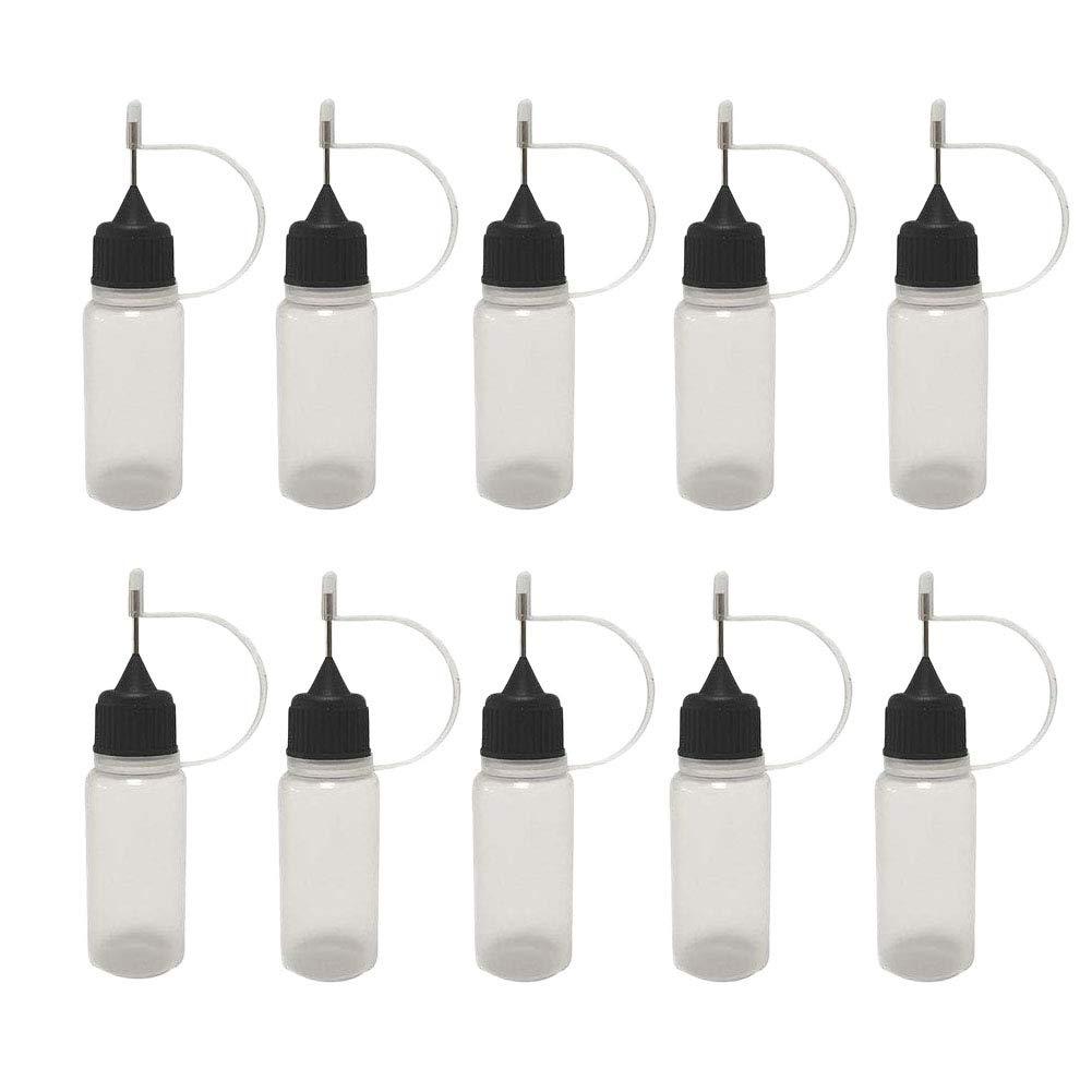 AKOAK 12 Pcs Plastic Squeezable Bottle Bo Tip Applicator Dropper specialty Dealing full price reduction shop