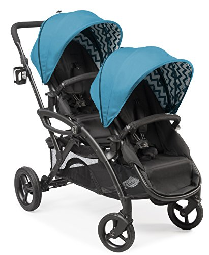 Product Image of the Contours Options Elite Tandem Double Toddler & Baby Stroller, Multiple Seating...