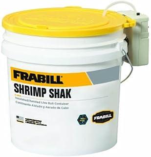 Frabill Shrimp Shak Bait Bucket with Aerator, 4.25 gal
