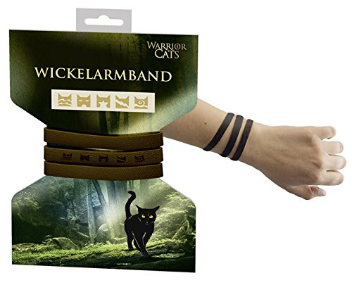 Warrior Cats Wickelarmband: 60 x 1 cm mit Druckknopf
