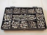 270 tornillos de cabeza Allen M3, M4 y M5, acero inoxidable A2-70...