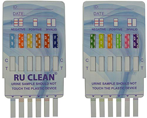 12 Panel Urine Drug Test at Home Drug Test Strips | Prescreen, Testing and Screen by Multi Drug Test Kits | Instant Easy to Use Urinalysis Screening Strips to Check Pee & Test for Drugs | para Drogas