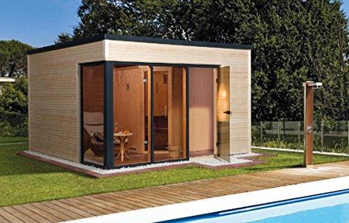 Preisvergleich Produktbild Weka Saunahaus 412 Gr. 1 inkl. 7, 5 kW Sauna-Ofen (OS)