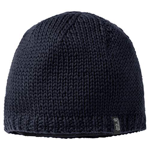 Jack Wolfskin STORMLOCK Knit Cap Mütze, Night Blue, M
