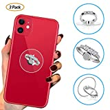 BF2Jk Three Pack-Clear Diamond Ring Phone Holder Grip for Smartphones,Tablets,Pads