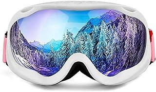 cjcaijun - Gafas Gafas de esquí antiniebla Gafas de esquí esféricas grandes antiniebla Gafas de sol
