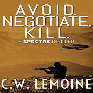 Avoid. Negotiate. Kill. audiobook cover art