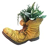 Toad Hollow HomeStyles Extra Large Old Boot Planter 10' H Holds 6' W Pot