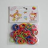 Hmocnv coloré en silicone pour animal domestique Chien Chiot Elastiques nœuds Toilettage Rubber Band Coiffe Bandeau Toilettage Accessoires Cheveux