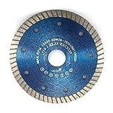 Profi Diamant-Trennscheibe, Fliesentrennscheibe von EDW, Durchmesser 125mm für Fliesen, Keramik Feinsteinzeug glasierte Klinker harte Dach und Tonziegel