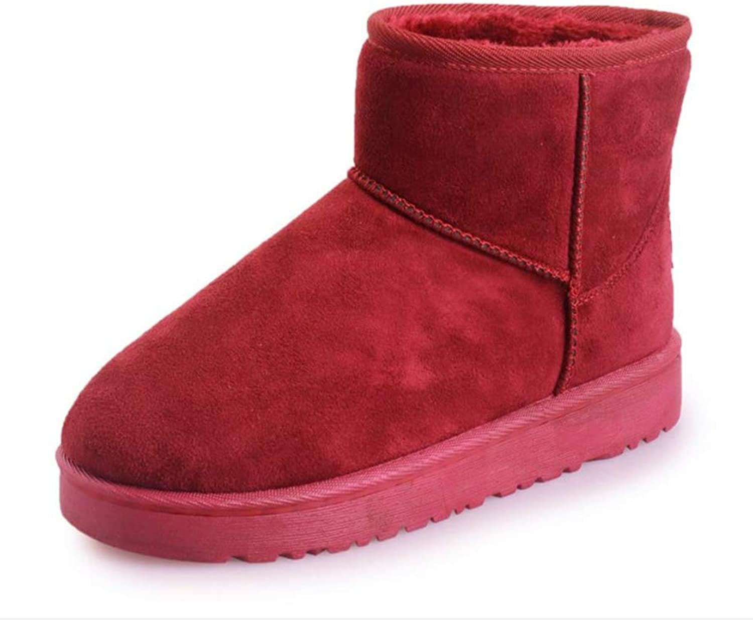 Gusha Trend Women's shoes Autumn and Winter Snow Boots Warm Boots