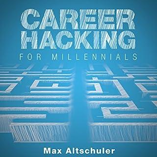 Career Hacking for Millennials audiobook cover art