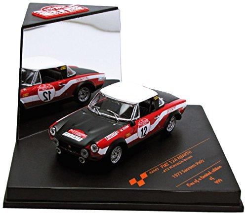 Vitesse - Sunstar - 42443 - Véhicule Miniature - Modèle À L'échelle - Fiat 124 Abarth - Rally Sanremo 1973 - Echelle 1/43