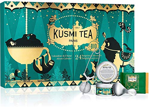 KUSMI TEA - Organic Tea Advent Calendar - 24 surprises for teas and herbal tea lovers