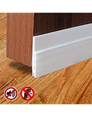 METRENO® Air Gap Rubber Shield Waterproof Weather-Strip Self-Adhesive Window/Door Tape for Seal, Cockroach Insect Bugs Stopper (1 m)