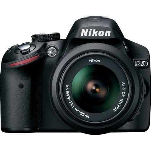 Nikon D3200 24.2 MP CMOS Digital SLR with 18-55mm f/3.5-5.6 AF-S DX...