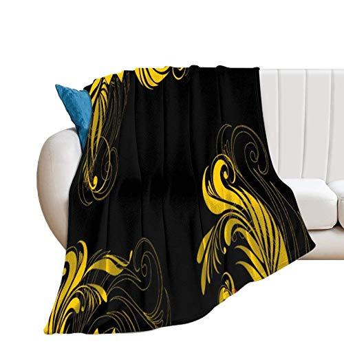 Donghouse Decke Native Russian Flanell Decke Komfort Velvet Touch Ultra Plüsch, Neuheit Soft Throw Decken passen Couch Sofa Tagesdecke Bettdecke Bettdecke 60'X 80'