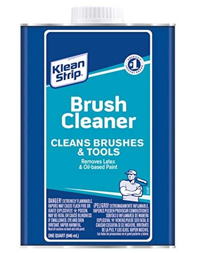 Klean Strip Qkbc121 Brush Cleaner, 1 Quart (Pack of 6)
