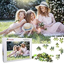 Personalized Puzzle, Custom Puzzle from Photos Jigsaw Puzzles 1000 Pieces as Wedding, Birthday, for Adults and Kids with A Poster