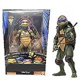 YSDSPTG Action Figure Classic Movie Film 1990's Leonardo Figura Raphael Michelangelo Donatello Azione Figure Toys Modello di Bambola (Color : C in Retail Box)