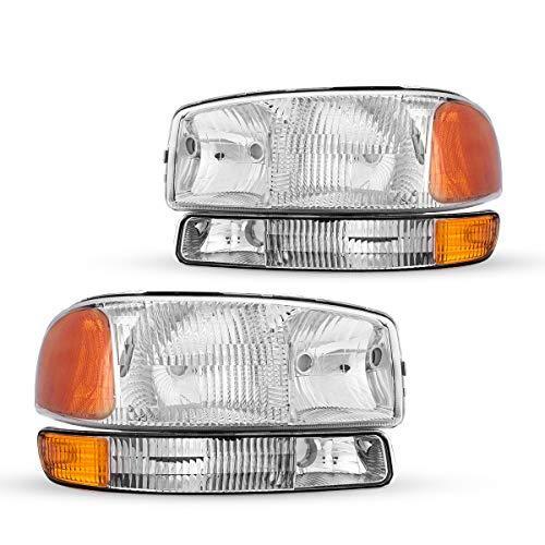 02 gmc sierra headlight assembly - 2