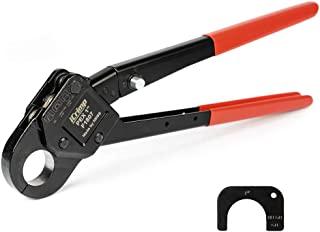 IWISS Angle Head F1807 PEX Pipe Crimping Tool for Copper Rings - 1-inch Angle Single Crimper