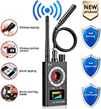 Anti Spy Detector, RF Detector & Camera Finder, Bug Detector, Wireless Bug Hidden Camera Detector for GPS Tracking GSM Listening Device Finder, Radio Frequency RF Detector, Upgraded Version