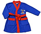 Boy's Disney Mickey Mouse Dressing Gown, Blue and Red, 1 to 5 Years (2-3 Years)