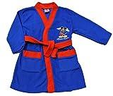 Bata, azul y roja, de ThePyjamaFactory, diseño de Disney, Mickey Mouse, de 1 a 5 años