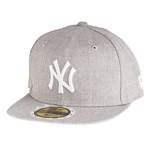 New Era 59Fifty Fitted Kids Cap - Heather NY Yankees - 6 5/8
