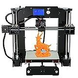 Anet A6 High Precision Big Size Desktop 3D Printer Kits Reprap Prusa i3 DIY Self Assembly LCD Screen