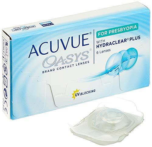 Acuvue Oasys for Presbyopia 2-Wochenlinsen weich, 6 Stück / BC 8.4 mm / DIA 14.3 / -3.75 Dioptrien / ADD LOW