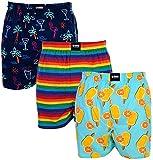 Happy Shorts 3 Boxershorts im Geschenkset aus Baumwolle