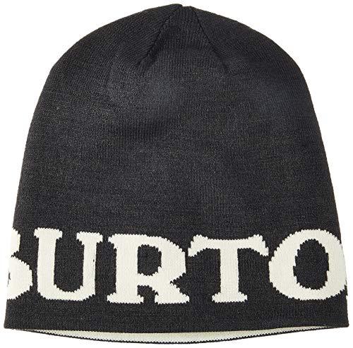 Burton(バートン) スノーボード ニット帽 メンズ ビーニー ニットキャップ BILLBOARD BEANIE 2019-20年モデル 1SZ TRUE BLACK/CANVAS 20720101001