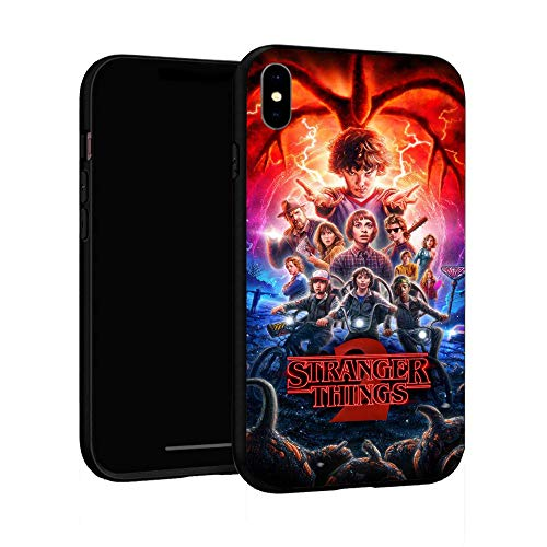 iPhone XR Case,TPU Plastic Case Cover for iPhone XR (Stranger Things-2)