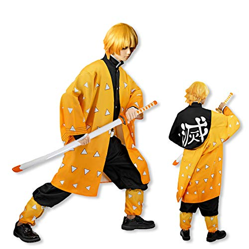 Demon Slayer Disfraz de cosplay de anime japons Kimono traje de Halloween
