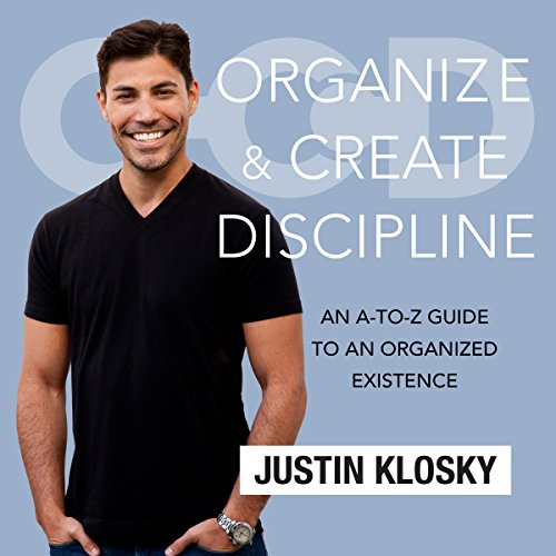 Organize and Create Discipline audiobook cover art