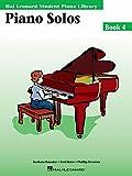 Piano Solos Book 4: Hal Leonard Student Piano Library (Hal Leonard Student Piano Library (Audio))