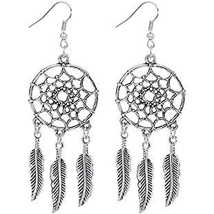 Customer reviews 1 Pair Fashion Earrings Shiny Drop Design Long Pendant Earrings Women/Girls