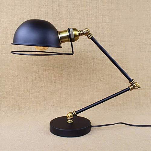 BXU-BG Lámparas de mesa, moderna minimalista dormitorio lámpara de cabecera, Sala lámparas llevadas ojo, hierro Lámparas de mesa, los niños que trabajan Reading Lights