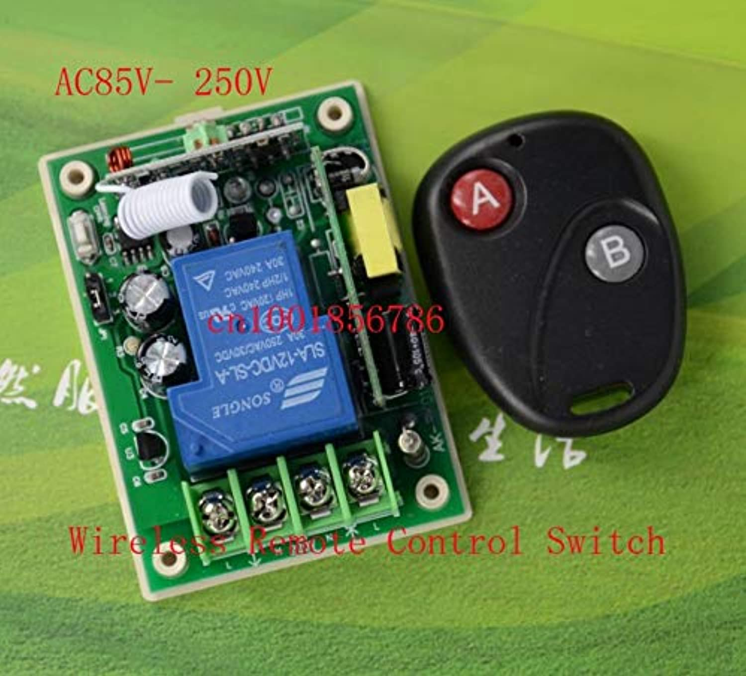 RF Wireless Remote Control Switch High Power 85V 250V 315 433 30A 3000W and 1000M Remote System Working Out with Latched