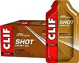 Clif, Shot Energy Gel Mocha Organic 1.2 Ounce, 24 Count