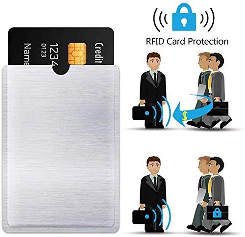 RFID Blocking Sleeves 10 Credit Card and 2 Passport Protectors Photo #5